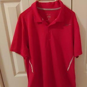 Nike DRI FIT Mens Short Sleeve Polo. Size XL.